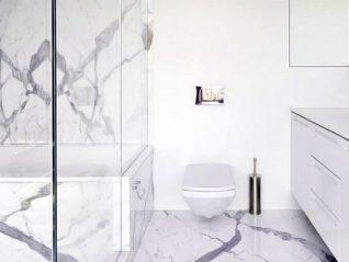Облицювання ванної натуральним каменем