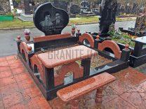 Подвійні пам'ятники фото (10)