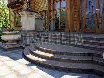 Гранітні сходи фото (28)