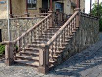 Гранітні сходи фото (51)