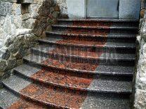 Гранітні сходи фото (96)