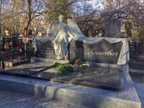 Пам'ятники з ангелом (7)