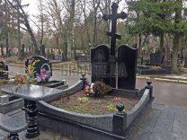 Пам'ятники з хрестом фото (2)