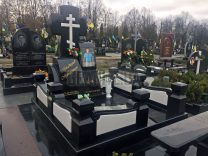 Пам'ятники з хрестом фото (24)