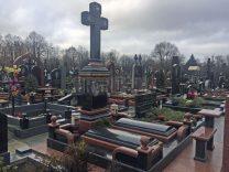 Пам'ятники з хрестом фото (26)