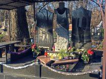 Пам'ятники з хрестом фото (37)