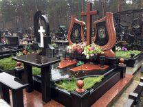 Пам'ятники з хрестом фото (6)