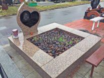 Пам'ятники з серцем фото (4)
