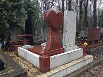 Пам'ятники з серцем фото (7)