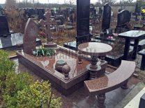 Столики і лавки на кладовищі фото (5)