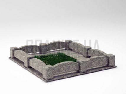 Могильна огорожа OG-08 Танський граніт