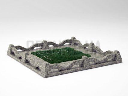 Могильна огорожа OG-11 Танський граніт