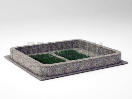 Могильна огорожа OG-20 Танський граніт