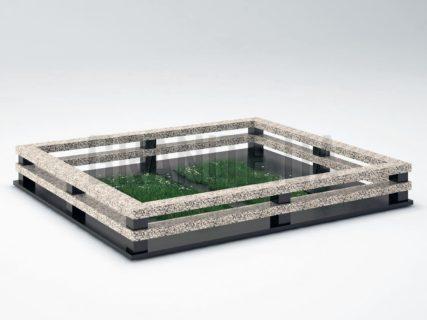 Могильна огорожа OG-24 Покостівський граніт