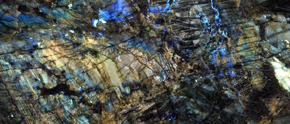 Лабрадорит текстура каменю