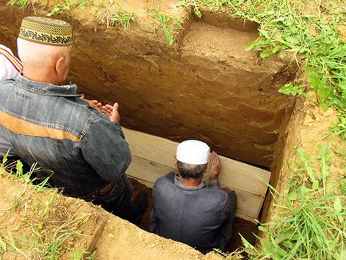 Поховання мусульман